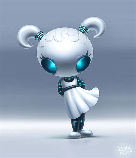 Girl-robot by Ekaterina-Frolova on DeviantArt