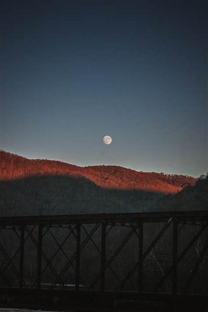 Gambar Langit Pagi Moon Fajar Matahari Paling