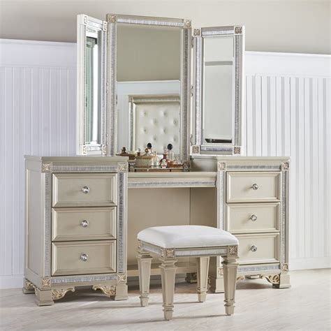 makeup vanity tables functional  fashionable furniture