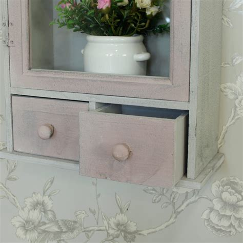 shabby chic bathroom cabinets wall cream wooden wall mounted storage cabinet shabby vintage chic bathroom kitchen