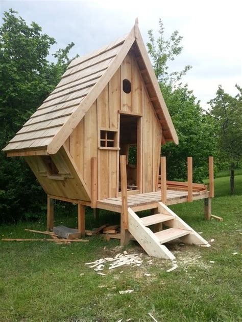 plan cabane en bois plan cabane en bois pour enfant cabanes and co
