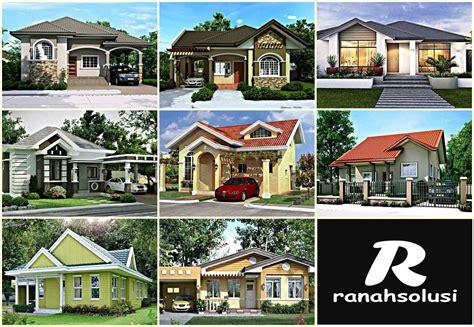 contoh desain rumah minimalis biaya  juta terbaru