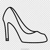 Shoe Drawing sketch template