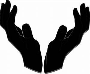Helping Hand Silhouette at GetDrawings.com | Free for ...