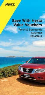 australia  zealand hertz  vouchers