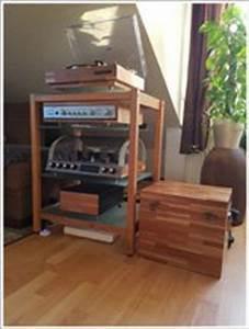 Cd Rack Holz : schallplattenregale cd dvd regale hifi rack online kaufen ~ Markanthonyermac.com Haus und Dekorationen