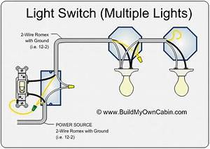 How To Wire A Switch With Multiple Lights In 2020