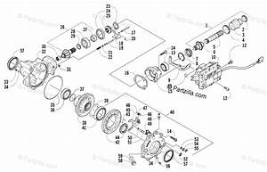 Arctic Cat Atv 2005 Oem Parts Diagram For Front Drive