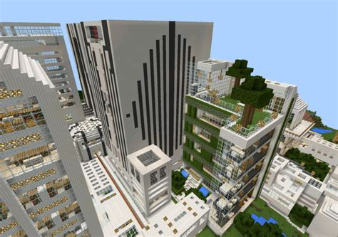 modern city map minecraft the nxus modern city creation minecraft pe maps