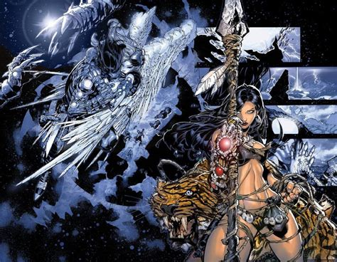 Witchblade, By Chris Bachalo