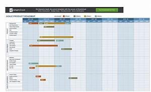 22 Visual Product Roadmap Templates  U0026 Tools  U1405 Templatelab