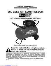 Harbor Freight Tools 99780 Manuals