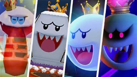 Evolution Of King Boo Battles (2001