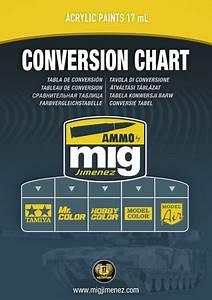 Mr Color Paint Conversion Chart Colorpaints Co