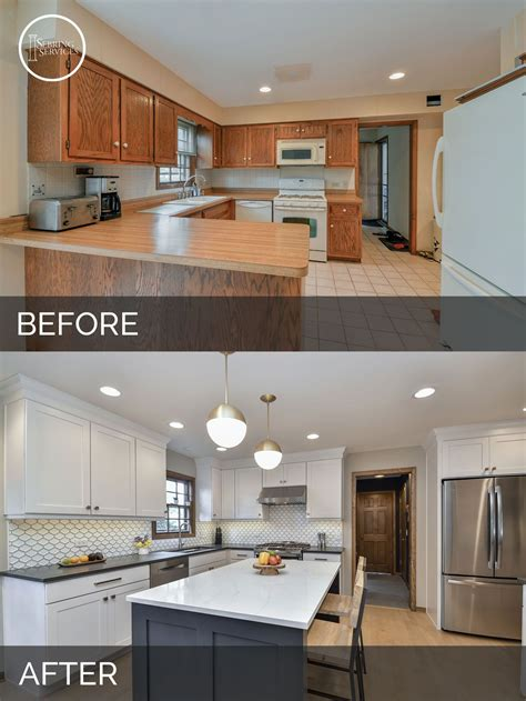 Home Depot Kitchen Before And After by Before And After Kitchen Remodeling Naperville Sebring