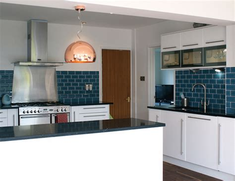 blue tile backsplash kitchen more blue tiles bumble 39 s design diary
