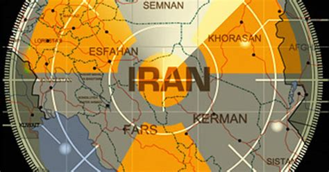nuclear iran sites  potential targets cbs news