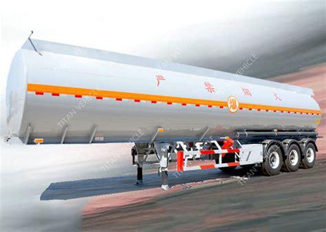 3 Axles 45000 Liters 5 Compartments Diesel Fuel Tank