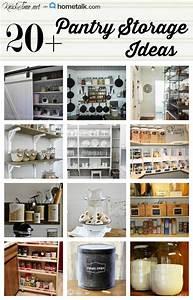 17 Pantry Storage Ideas via KnickofTime net