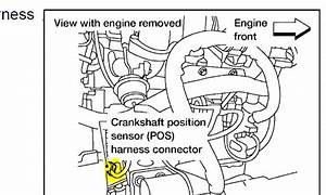 Nissan Altima With Engine Speed Sensor Circuit Malfunction