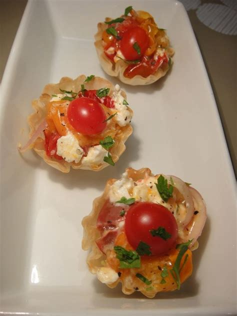 roasted cherry tomatoes and goats cheese canapes recipe