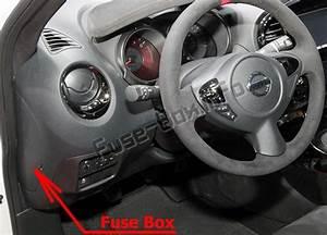 Fuse Box Diagram Nissan Juke  F15  2011