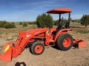 2012 - Kubota L3800 4x4 Tractor