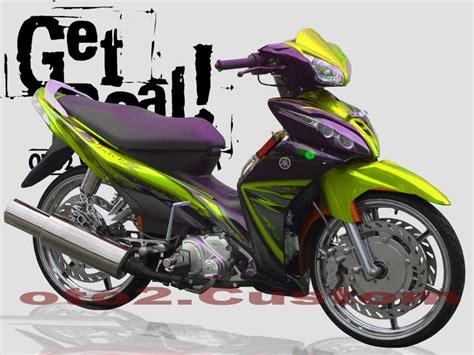 Motor Jupiter Z Modifikasi by Yamaha Jupiter Z Modifikasi Modifikasi Mobil Motor