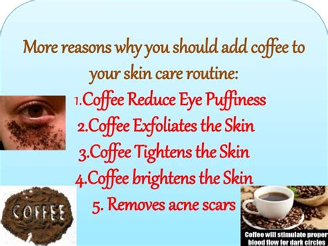 Honey mask has been used to treat acne, other marks, scars, spots, and blemishes. Coffee mask for skin
