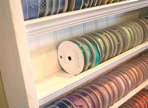 studio ribbon storage
