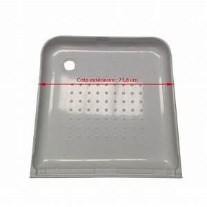 Bac De Douche : bac pour douche de 75x75 o 39 hara ~ Edinachiropracticcenter.com Idées de Décoration