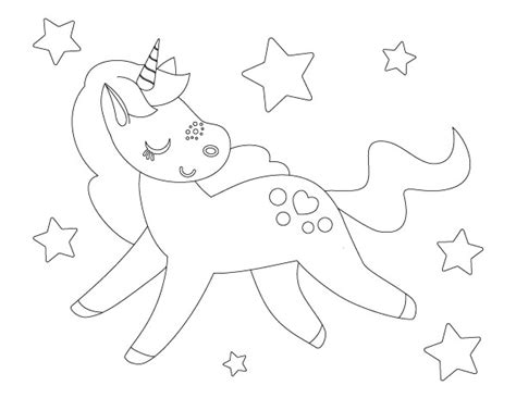 printable unicorn coloring pages   girl