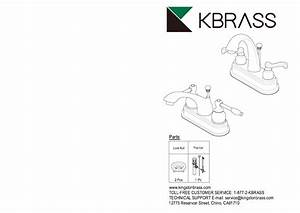 Kingston Brass Hfb5615ax Restoration 4 In  Centerset 2