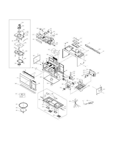 electrolux eismqsa microwavehood combo parts sears partsdirect