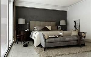 Wandfarbe Grau Schlafzimmer : wandfarbe grau kombinieren 55 deko ideen und tipps ~ One.caynefoto.club Haus und Dekorationen