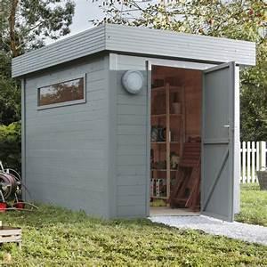 pose d39un abri de jardin jusqu39a 10 m2 leroy merlin With idee deco jardin terrasse 10 salle de bain 3 5m2
