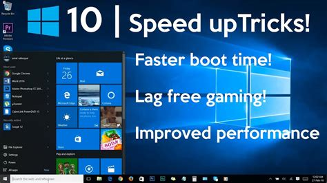 how to speed up your windows 10 performance best settings