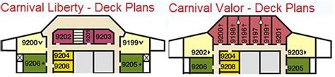 carnival conquest deck plans cabins valor cabin 9200 cruise critic message board forums