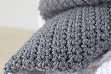 extra large chunky crochet blanket  easy  single