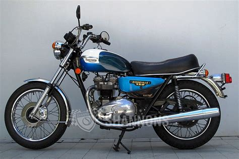 Triumph T140es Bonneville, 750cc Motorcycle Auctions