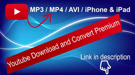 It supports all ios devices and delivers 4k ultra hd, with subtitles. Youtube Download & Convert to mp3, mp4, avi, iPhone and ...