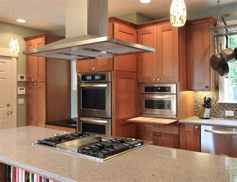 kitchen islands with stove the most popular island oven arrangements for the kitchen