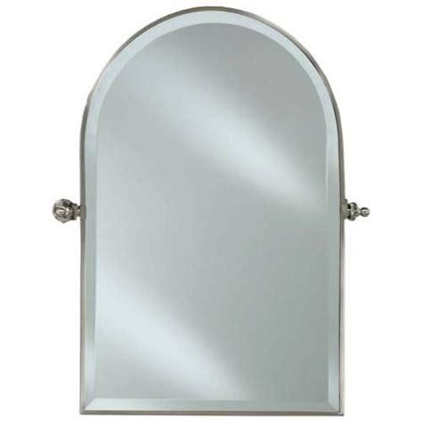 Polished Chrome Bathroom Mirrors by Afina Rm 830 Cr Polished Chrome Radiance Arched Top Mirror