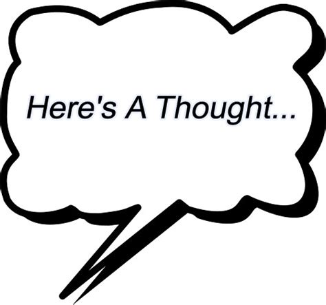 thinking cloud writing template thought cloud clipart best