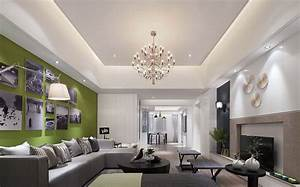 Rectangular Living Room Design – Modern House