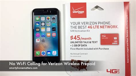 verizon iphone wifi calling no wi fi calling for verizon wireless prepaid