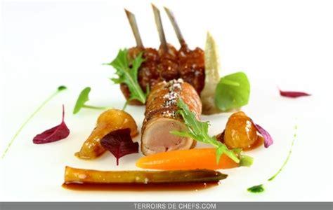 recette de cuisine gastronomique de grand chef agneau des pyrénées légumes épicés recette du chef