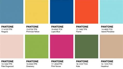 Trendfarbe 2016 Pantone by Modefarben Fr 252 Hling 2018 171 Farbtrends 171 Mode Marken Und