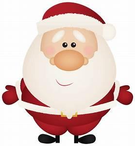 Cartoon Santa Clipart (79+)