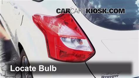 Brake L Bulb Fault Ford Focus 2016 by How To Change A Brake Light Bulb In A Car Ford Focus How